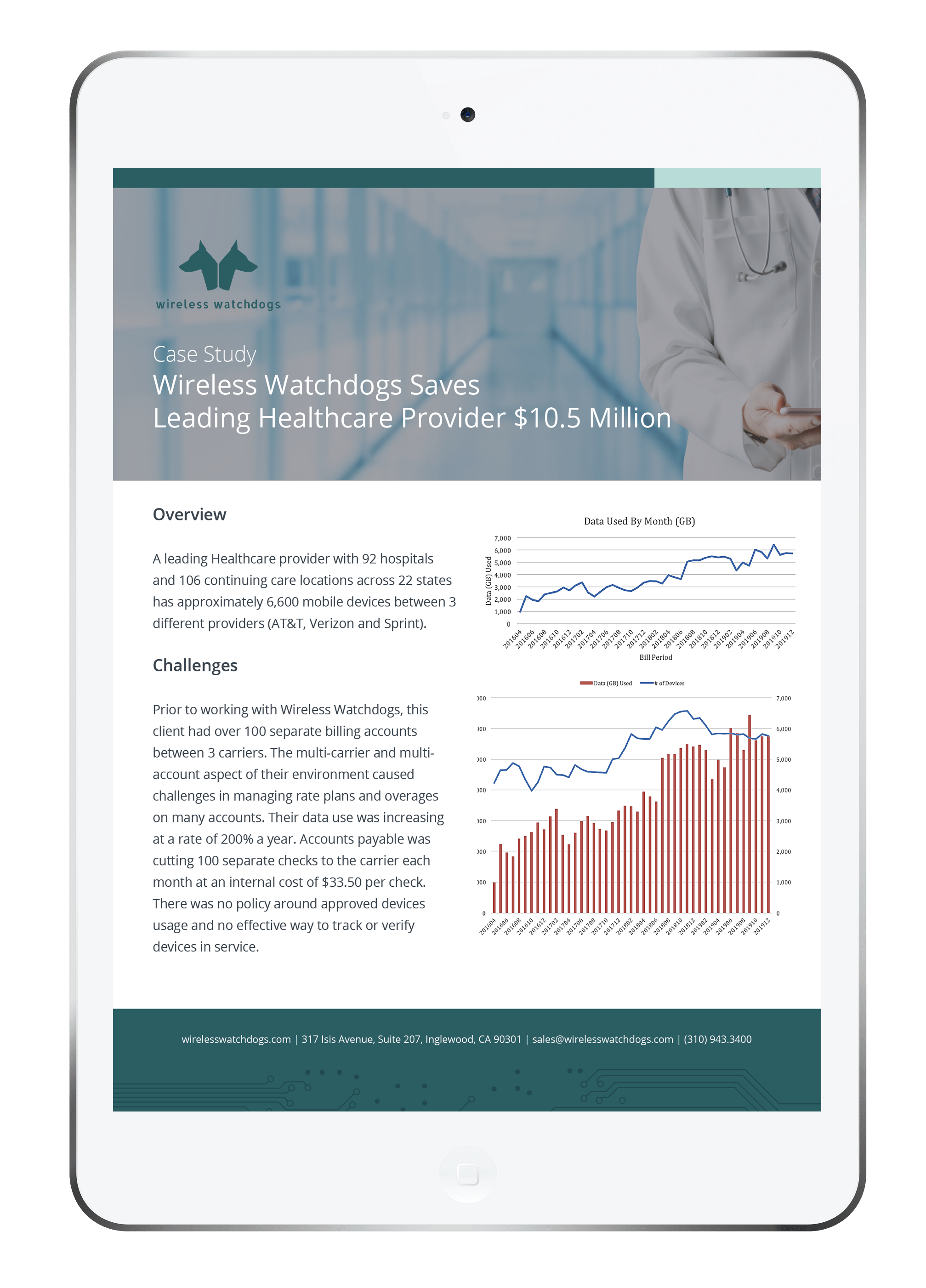 Wireless Expense Case Study for Healthcare